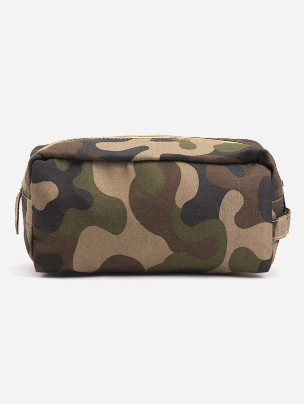 """""""Camouflage"""" print beauty case"""