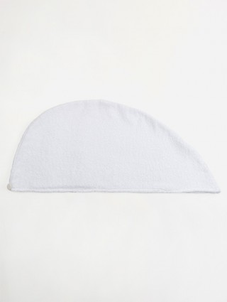 Sponge turban - White