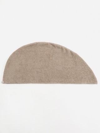 Turbante in spugna personalizzato - Sabbia