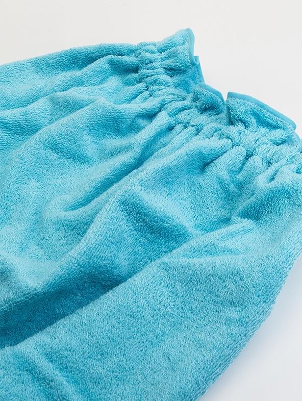 Customized sponge pareo - Turquoise
