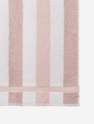 Coppia asciugamani in spugna Design personalizzati -  Rosa chiaro