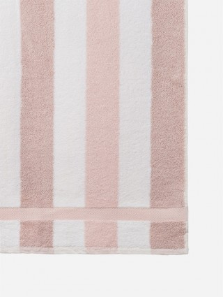 """Customized """"Design"""" terry towels - Detail light pink"""