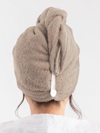 Sand customized sponge turban - Back detail