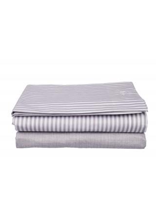 Life Bed Sheet Set - Small Stripe