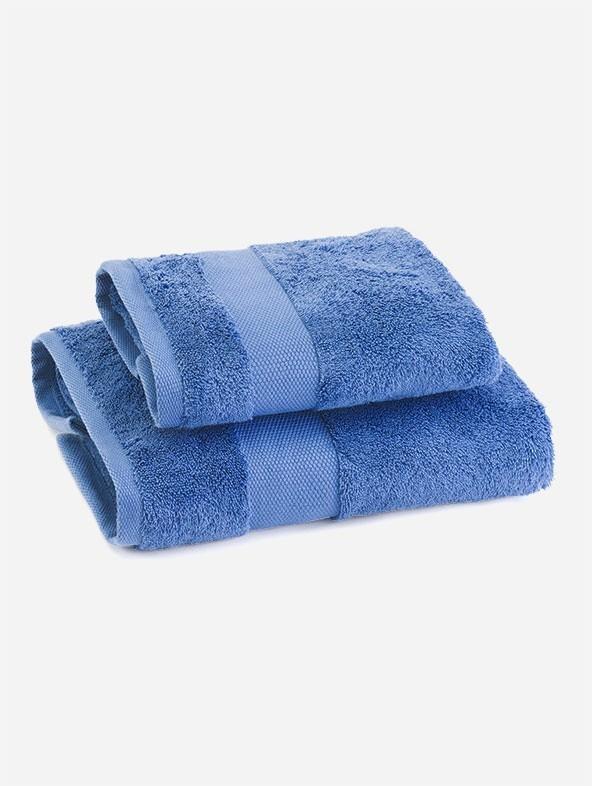 Coppia asciugamani spugna - Pervinca