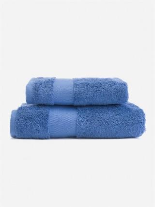 Sponge Solid Color Set of Hand Towels - Periwinkle