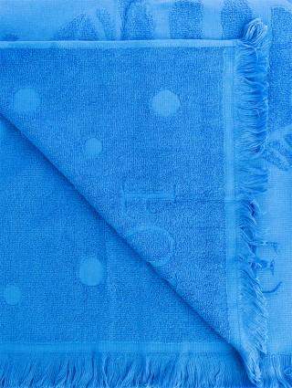 """""""Innovazione"""" Forte dei Marmi Beach Towel - Detail bluette"""