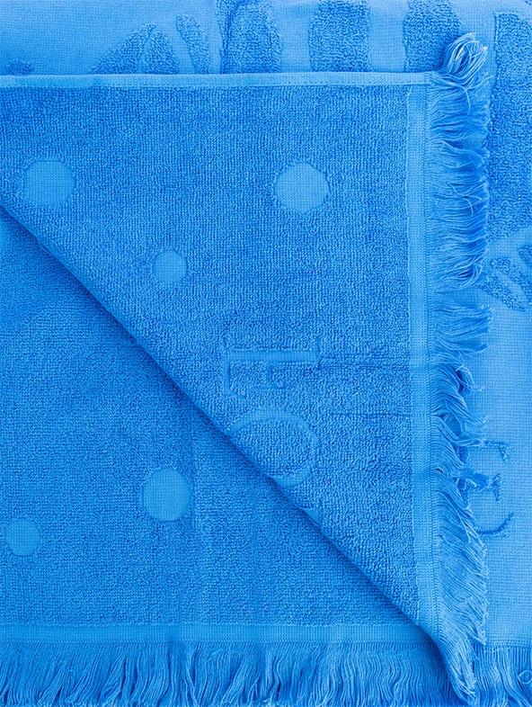 """Customized """"Innovazione"""" Forte dei Marmi Beach Towel - Detail bluette"""