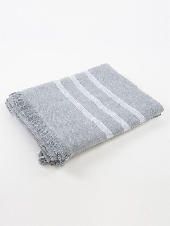 3 Rows Microterry Fouta