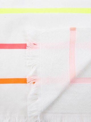 Fluo Rows Microterry Fouta