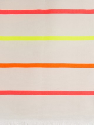 Customized Fluo Rows Microterry Fouta