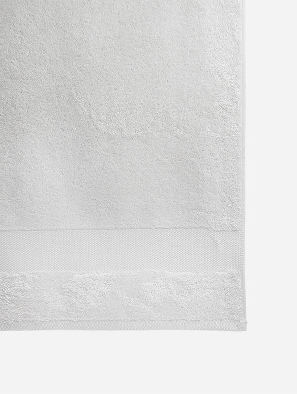 Telo bagno spugna personalizzato - Bianco