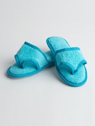 Women's Terry cloth flip flops