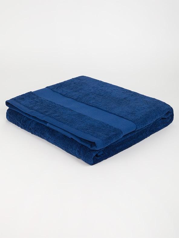 Sponge Solid Color Bath Towels