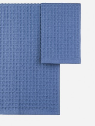 Customize Couple Towels in Waffle Piquet