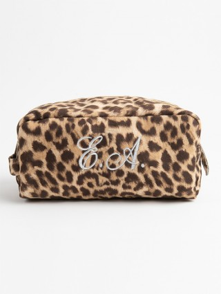 """Customized """"Spotted"""" print Beauty Case"""