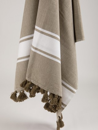 Classic Fouta with tassels