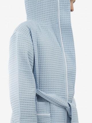 Customized Baby Honeycomb bathrobe with border