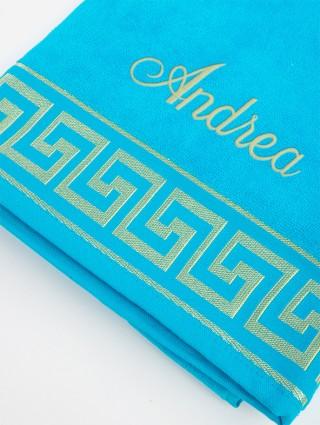 Customized Greek Beach Towel