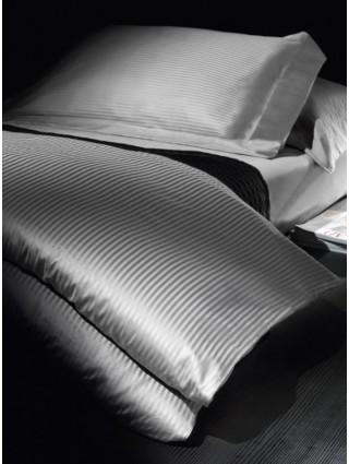 Double size Striped Cotton Satin Duvet Cover