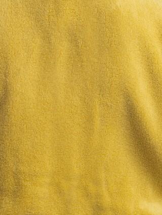 Set Asciugamani Spugna con bordo Lino Grigio cifrati - A