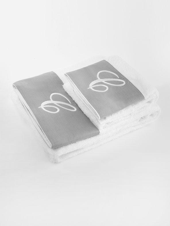 Life Bath Towels - Rhombus - Sand