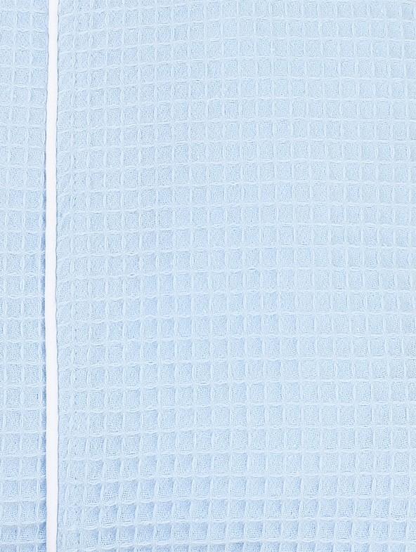 Light-blue outline white