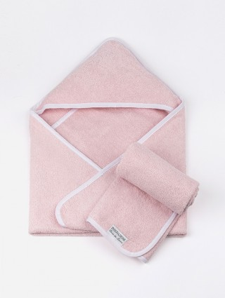 Telo con Cappuccio Baby + Asciugamano
