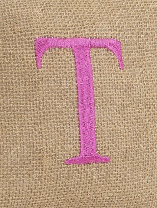 Embroidery detail - T