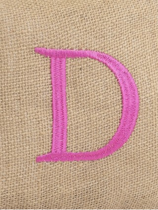Embroidery detail - D