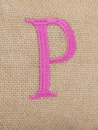 Embroidery detail - P