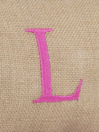 Embroidery detail - L