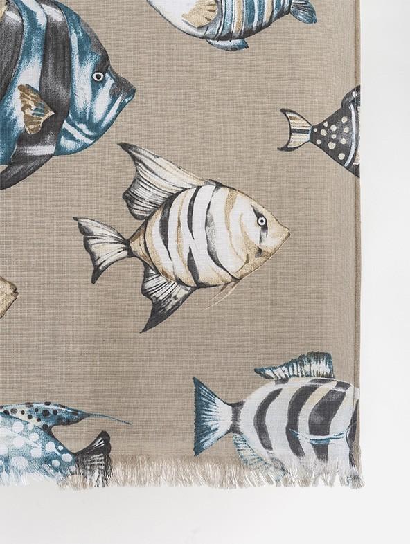 Telo Mare Fish Fantasy Personalizzato